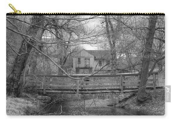 Wooden Bridge Over Stream - Waterloo Village Carry-all Pouch