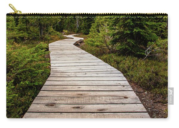 Wooden Walkway Carry-all Pouch