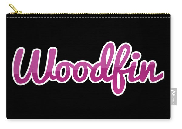 Woodfin #woodfin Carry-all Pouch