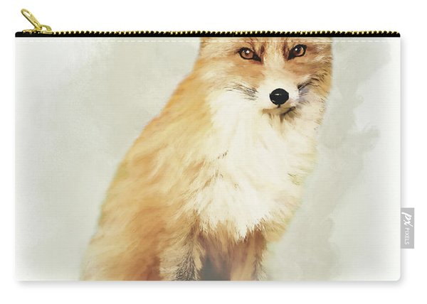 Woodland Fox Portrait Carry-all Pouch