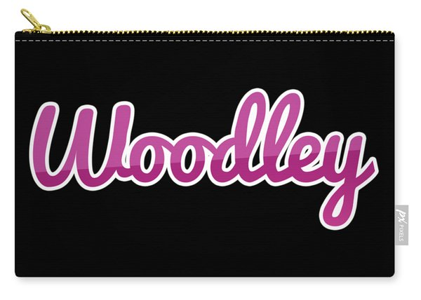 Woodley #woodley Carry-all Pouch