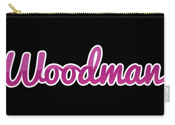 Woodman #woodman Carry-all Pouch