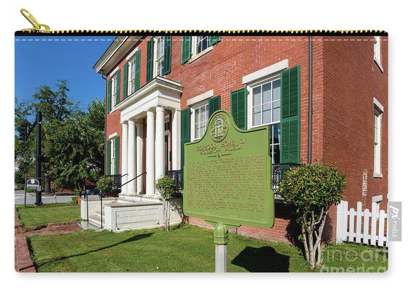 Woodrow Wilson Boyhood Home - Augusta Ga 1 Carry-all Pouch