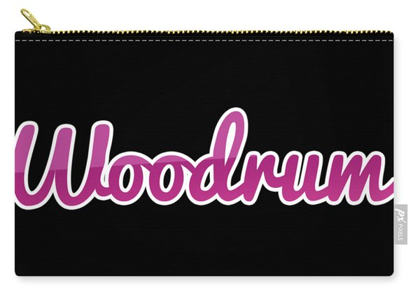 Woodrum #woodrum Carry-all Pouch