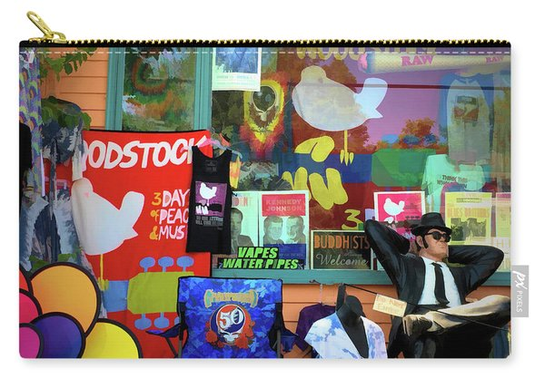 Woodstock Peace And Love 3 Carry-all Pouch