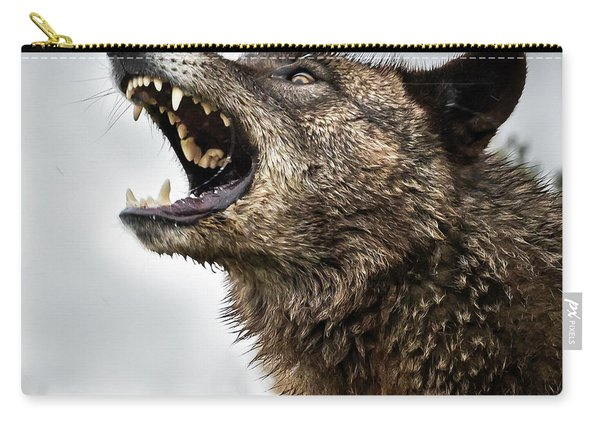 Woof Wolf Carry-all Pouch