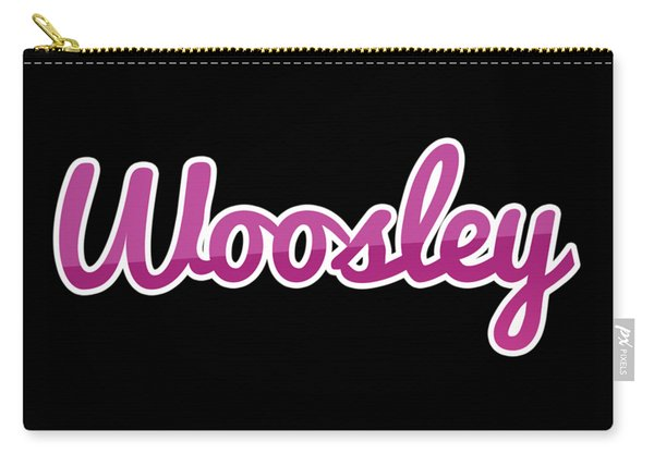 Woosley #woosley Carry-all Pouch