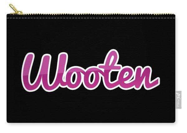 Wooten #wooten Carry-all Pouch