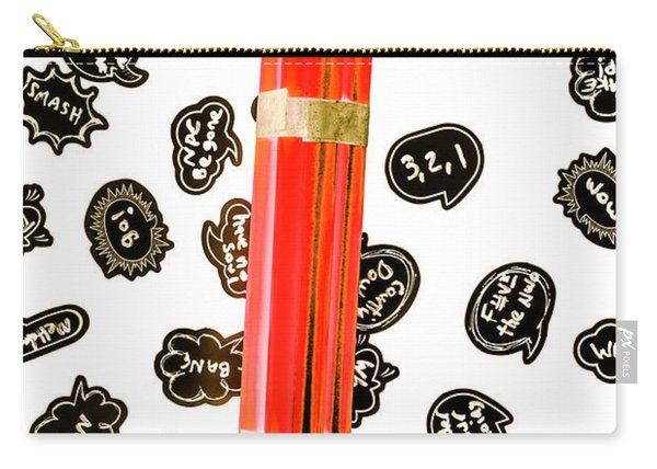 Words As A Weapon Carry-all Pouch