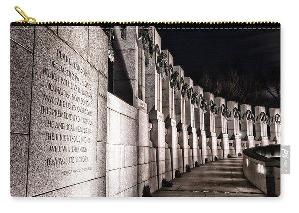 World War II Memorial Carry-all Pouch