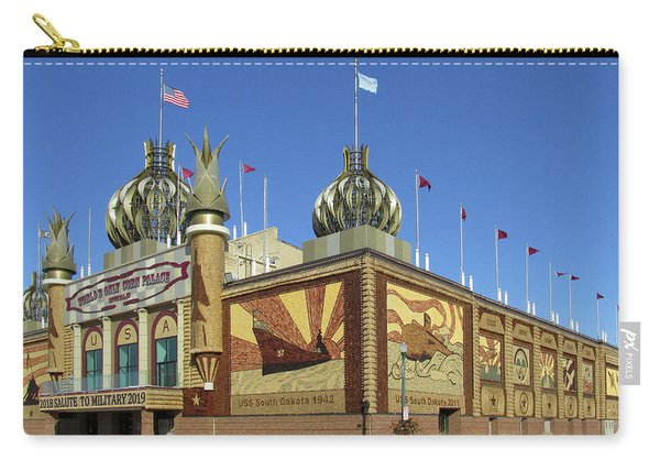 Worlds Only Corn Palace 2018-19 Carry-all Pouch