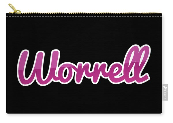 Worrell #worrell Carry-all Pouch
