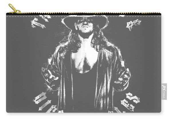 Wwe Undertaker Taking Souls And Digging Holes T-shirt Carry-all Pouch
