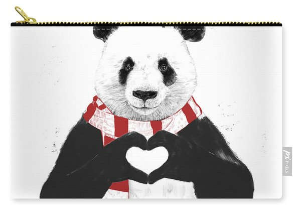 Xmas Panda  Carry-all Pouch