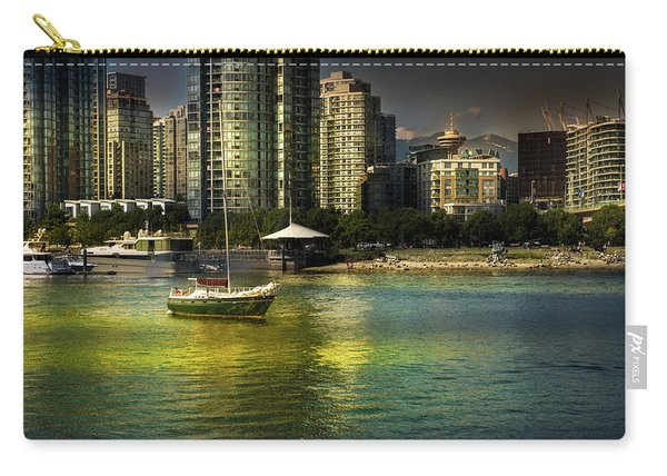 Yaletown Sunset Carry-all Pouch