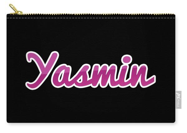 Yasmin #yasmin Carry-all Pouch