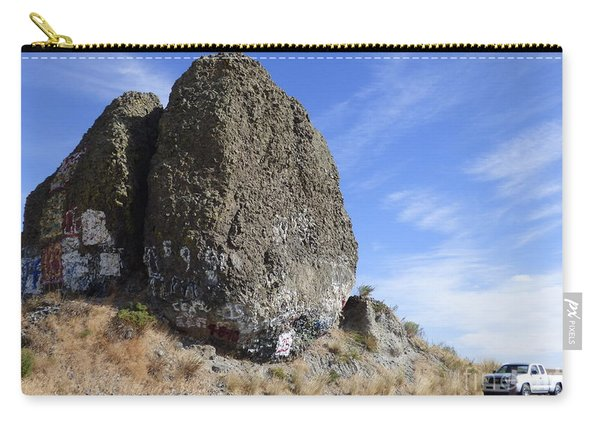 Yeager Rock - A Glacial Erratic Carry-all Pouch
