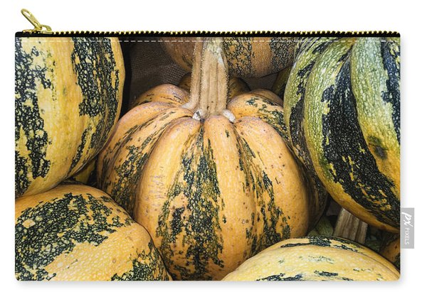 Yellow And Green Pumpkins Carry-all Pouch