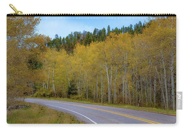 Yellow Aspens Carry-all Pouch
