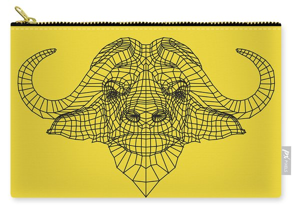 Yellow Buffalo Carry-all Pouch