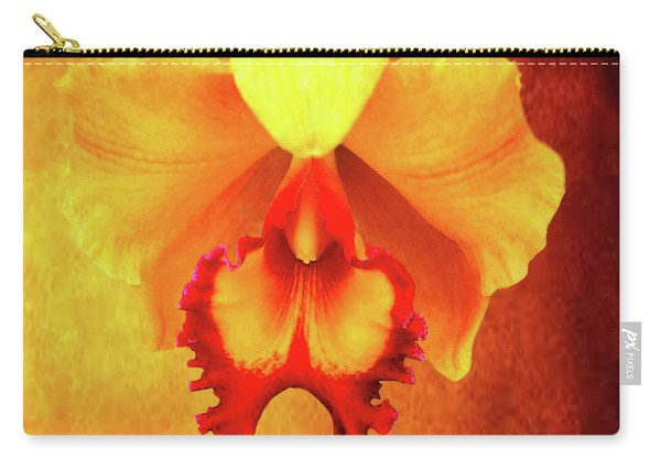 Yellow Exotic Carry-all Pouch