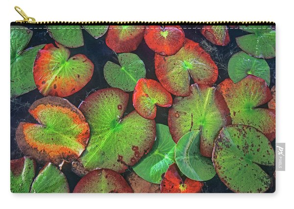 Yellow Pond Lily, Weminuche Wilderness Carry-all Pouch
