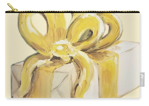 Yellow Present Carry-all Pouch