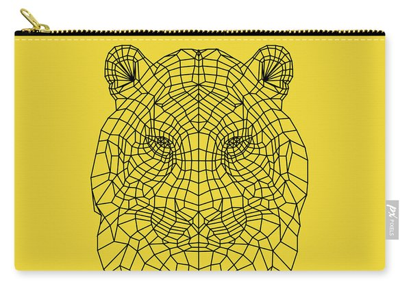 Yellow Tiger Carry-all Pouch