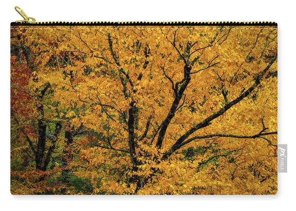 Yellow Tree Leaf Brilliance  Carry-all Pouch