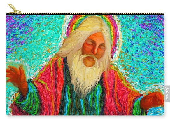Yhwh Over Us Carry-all Pouch