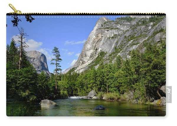 Yosemite Mirror Lake, Lower Pool Carry-all Pouch