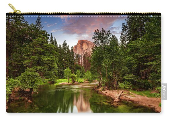 Yosemite Sunset - Single Image Carry-all Pouch