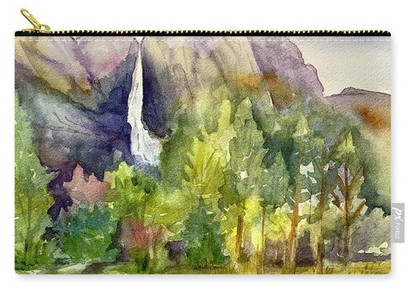 Yosemite Waterfalls Carry-all Pouch