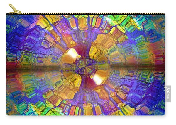 You Are Already A Kaleidoscope On The Inside Carry-all Pouch