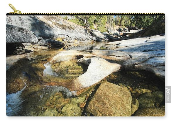 Carry-all Pouch featuring the photograph You Are Here ...are You Ready To Be A Water Protector by Sean Sarsfield