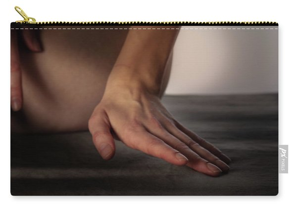 Carry-all Pouch featuring the photograph You Hands No. 9 by Juan Contreras
