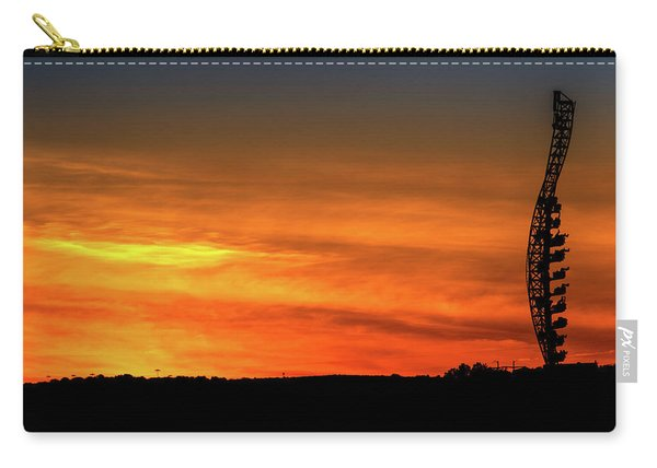 Vertical Roller Coaster At Sunset Carry-all Pouch