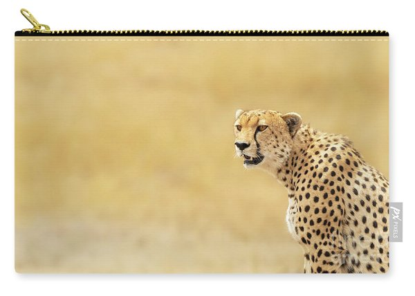 Young Adult Cheetah Banner Carry-all Pouch