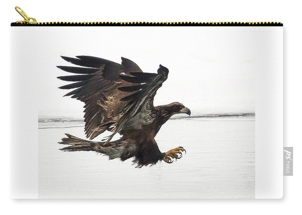 Young Bald Eagle Carry-all Pouch