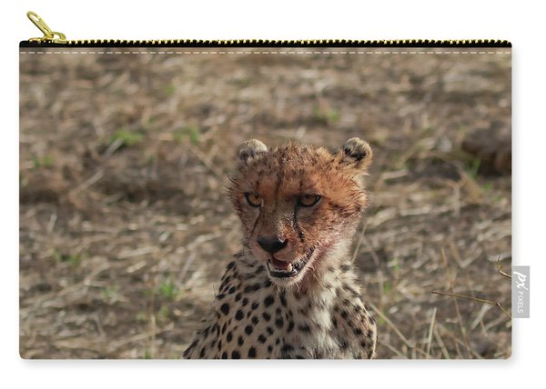 Young Cheetah Carry-all Pouch