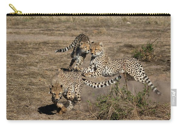 Young Cheetahs Carry-all Pouch