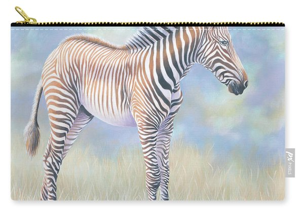 Young Grevy Zebra Carry-all Pouch