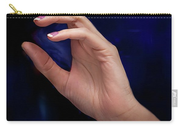 Carry-all Pouch featuring the photograph Your Hands No. 5 by Juan Contreras