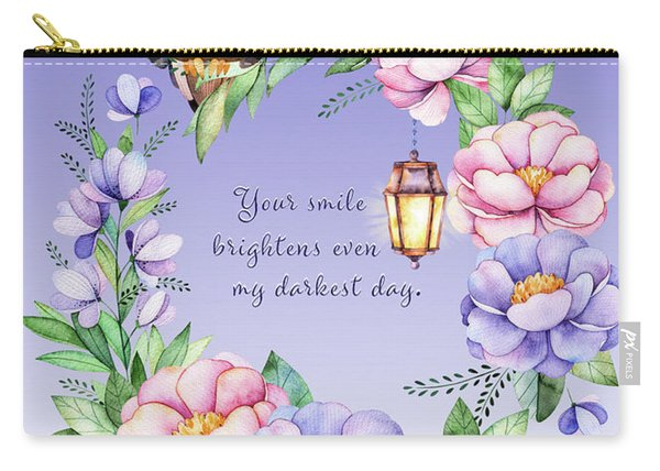 Your Smile - Kindness Carry-all Pouch