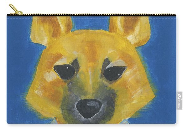 Carry-all Pouch featuring the painting Yukon by Suzy Mandel-Canter