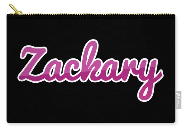 Zackary #zackary Carry-all Pouch
