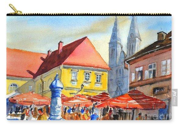 Zagreb Near Dolce Market Carry-all Pouch