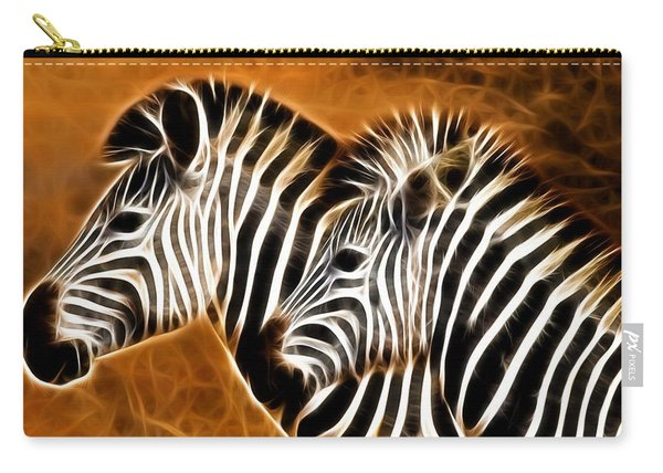 Zebra Brother Carry-all Pouch