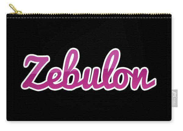 Zebulon #zebulon Carry-all Pouch