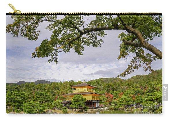 Zen Buddhist Temple Kinkaku-ji G1 Carry-all Pouch